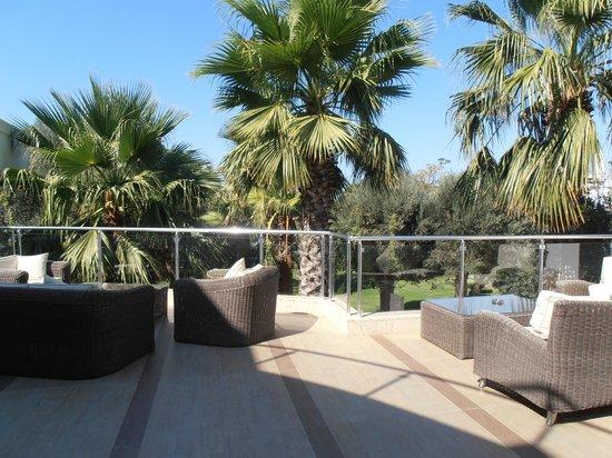Hotel Samara : The terrace on the reception-floor