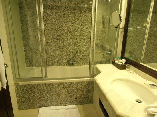 Hotel Samara : The bathroom