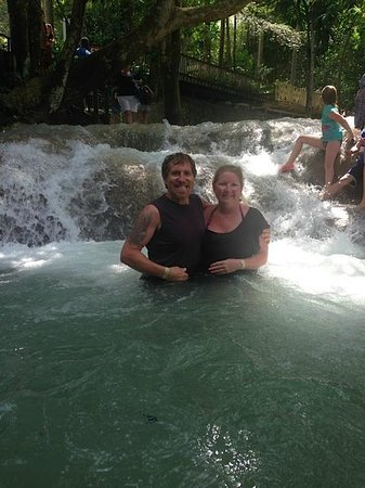 Rainforest Bobsled Jamaica at Mystic Mountain: Dunns River Falls