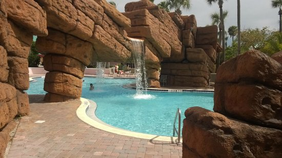 Radisson Resort at the Port: Pool & waterfall