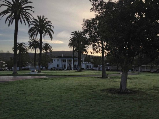 Silverado Resort and Spa: The main building in the morning.