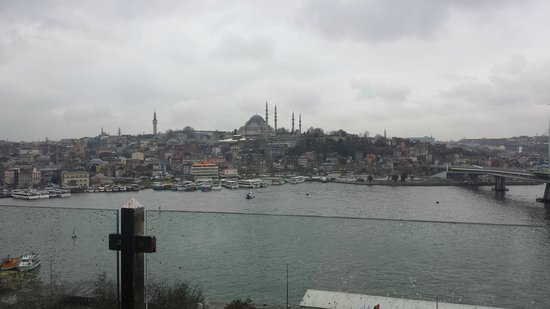 Istanbul Golden City Hotel: Η θέα από το εστιατόριο