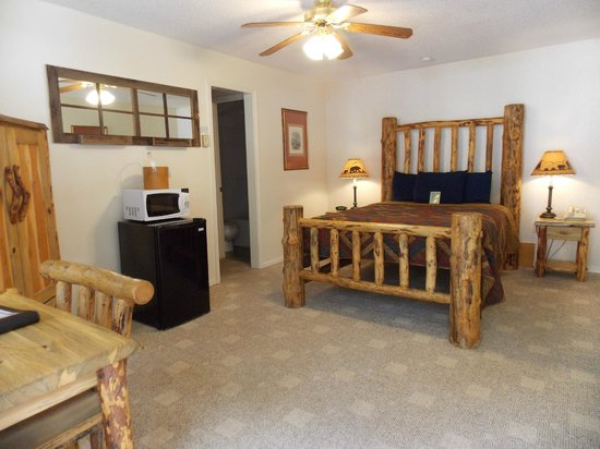 Ouray Riverside Inn and Cabins : Single Queen