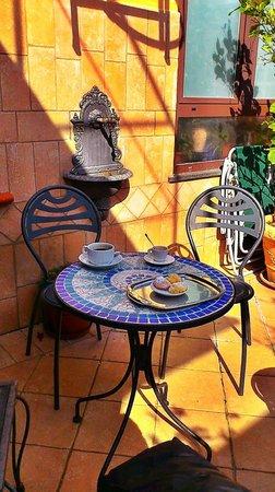 Hotel Il Convento: на террасе, прилегающей к номеру