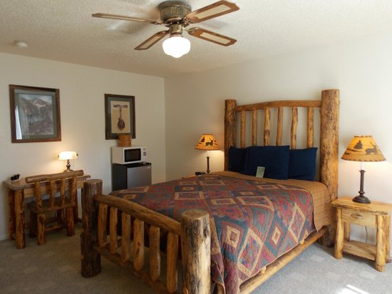 Ouray Riverside Inn and Cabins : Single Queen Room