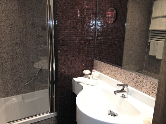 Hilton Garden Inn Rome Claridge: Il bagno