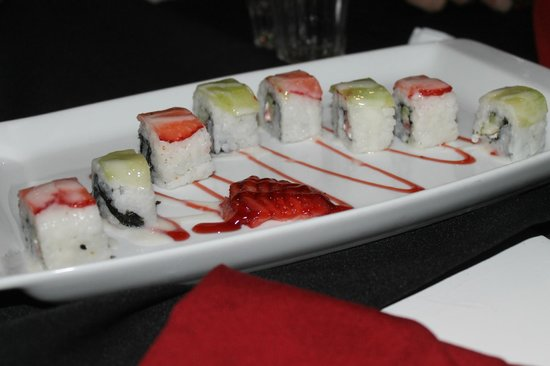 Bel Air Collection Resort & Spa Cancun: Fruit sushi, amazing!