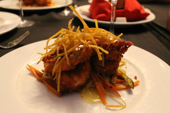 Bel Air Collection Resort & Spa Cancun: Coconut shrimp! Mmm mmm good!