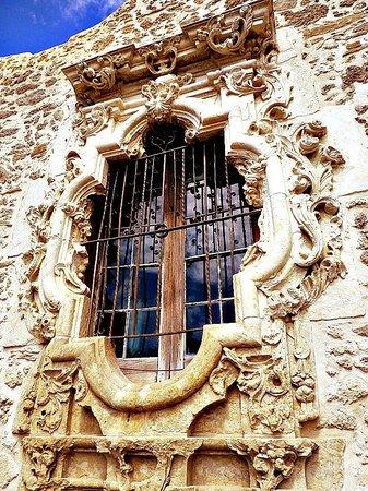 Mission Trail: Rose window at Mission San Jose