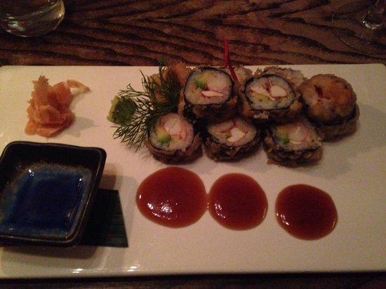 Munchie: Tempura sushi