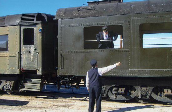 Pacific Southwest Railway Museum: Getting ready to go