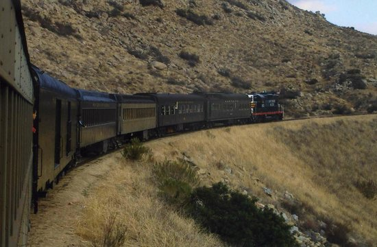 Pacific Southwest Railway Museum : The long train