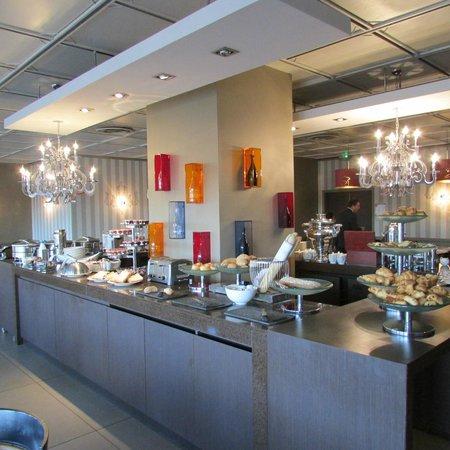 Mercure Reims Centre Cathedrale : Breakfast buffet