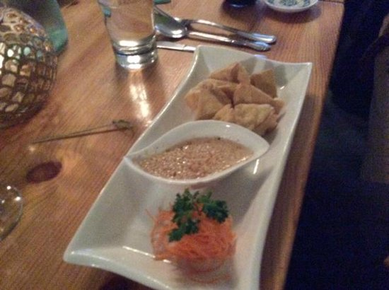 Chang Thai Cafe: Fried tofu