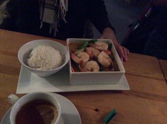 Chang Thai Cafe: Shrimp curry