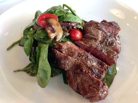Tasting Room: Steak salad - just okay.