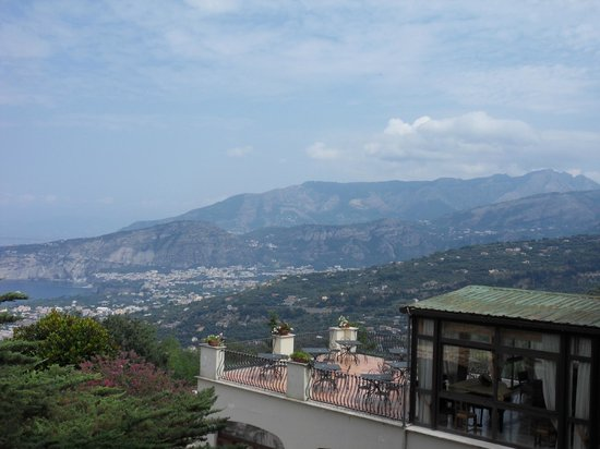 Grand Hotel Hermitage & Villa Romita: view from balcony