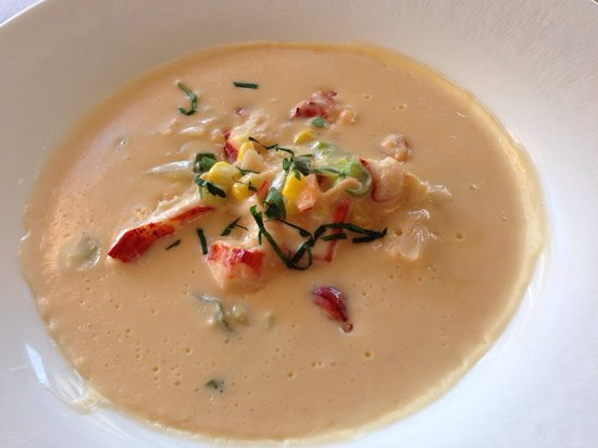 Tasting Room: Lobster bisque - superb!