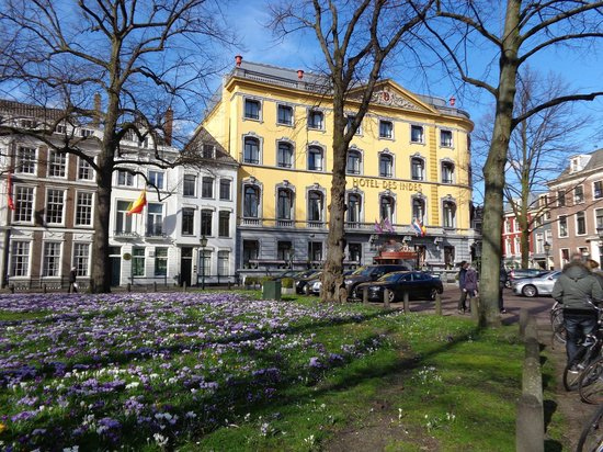 Hotel Des Indes, a Luxury Collection Hotel: the hotel from outside