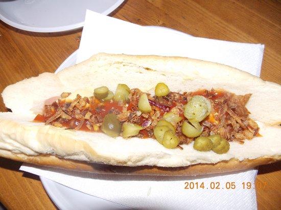 Fogasház : O cachorro-quente húngaro