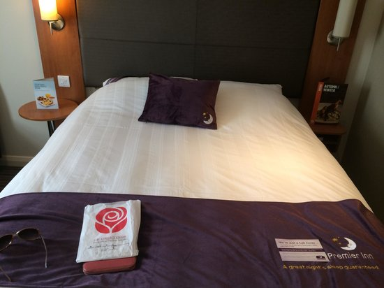 Premier Inn Thetford Hotel: Loverly bed