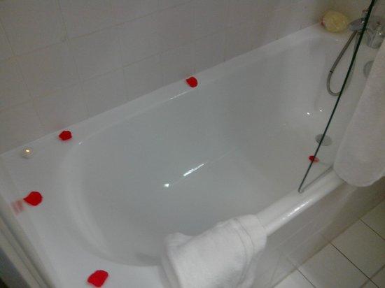 BEST WESTERN  Les Bains Hotel & SPA : Baignoire