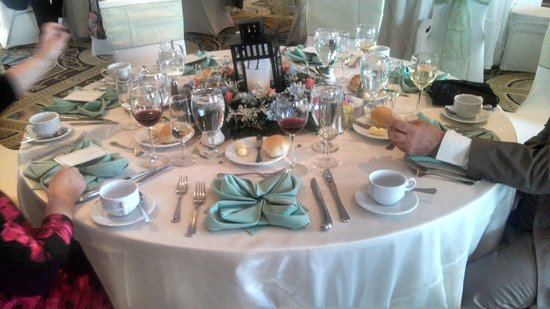 The Grand Hotel Banquet Table Setting & Banquet Table Setting - Picture of The Grand Hotel Cape May ...