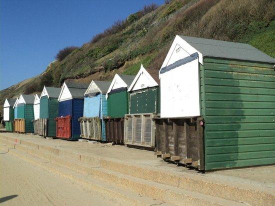Beach huts, Bournemouth beach