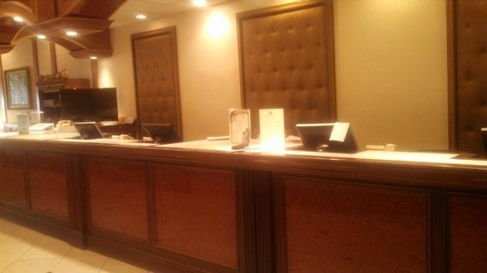 The Grand Hotel: Front Desk View