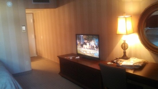 "The Grand Hotel: ""C"" Room Flat Screen TV"
