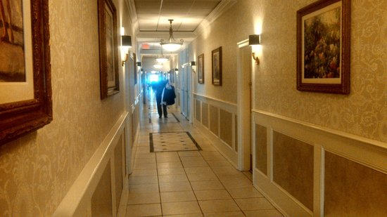 The Grand Hotel: Long Halway View