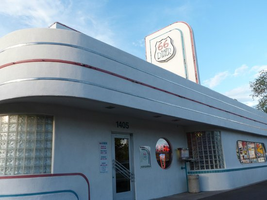 66 Diner: exterior
