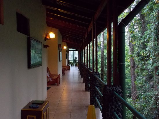 Arenal Observatory Lodge & Spa: Outside Lodge room