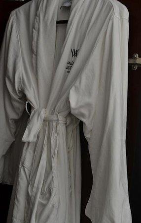 Waldorf Astoria Chicago: Bathrobe