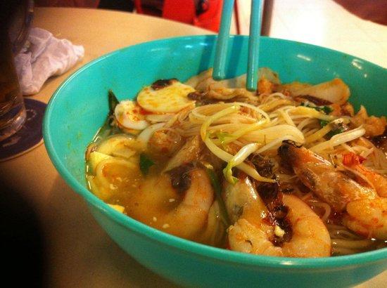 Long Beach: Prawn and Noodle Soup
