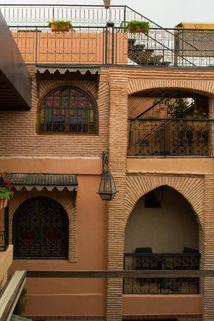 Riad & Spa Mabrouk: View of Room