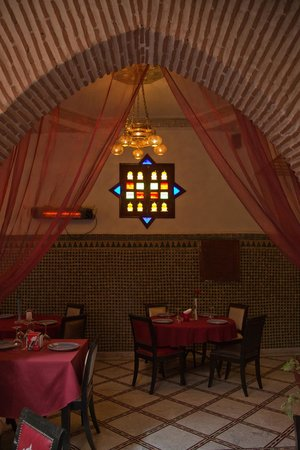 Riad & Spa Mabrouk : Dining Area