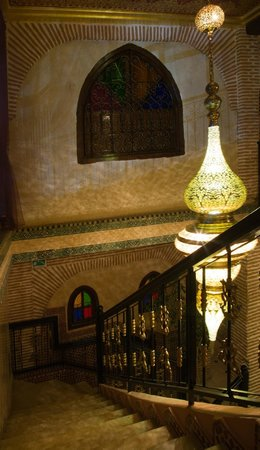 Riad & Spa Mabrouk : Stairs
