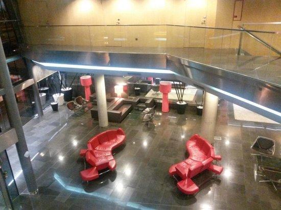 NH Madrid Las Tablas: Hall de recepción