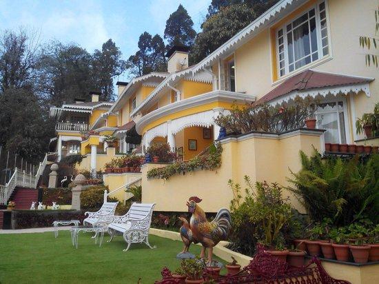 Mayfair Darjeeling: View from corridor