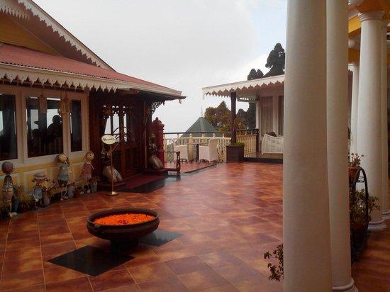 Mayfair Darjeeling: View from Reception