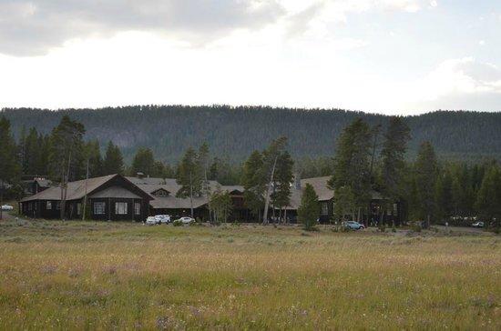Lake Lodge Cabins : Hauptgebäude