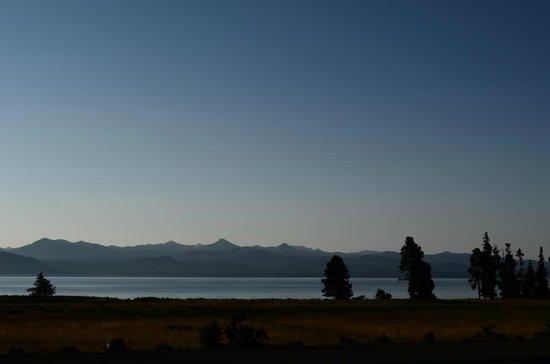 Lake Lodge Cabins : Aussicht auf den See