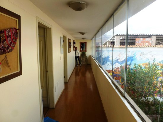 Hotel Taypikala Cusco: Pasillo