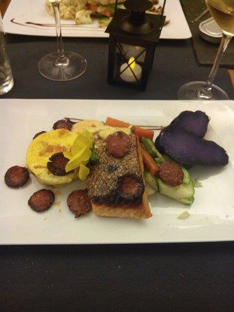 Le Carnet de Bord : Saumon chorizo