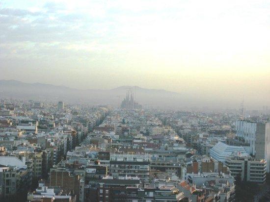 """Gran Hotel Torre Catalunya: """"Desde el restaurante"""""""