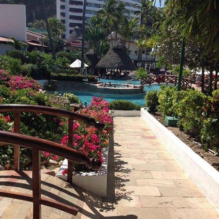 Hyatt Ziva Puerto Vallarta: Pool Area