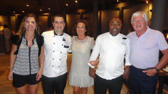 Paradisus Punta Cana Resort: Con Hilario y Carlos