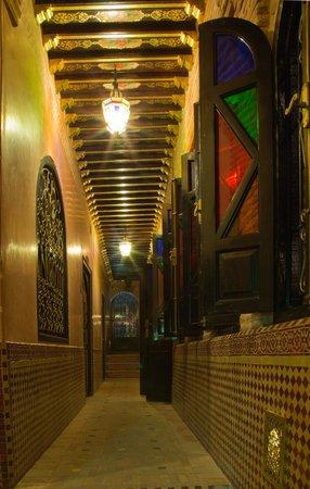 Riad & Spa Mabrouk : Corridor