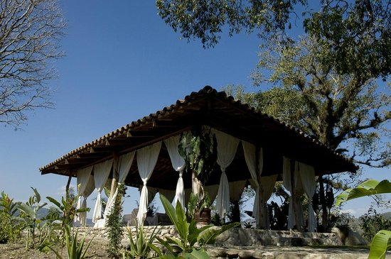 Hacienda San Lucas: Gaia, yoga and wedding pavilion